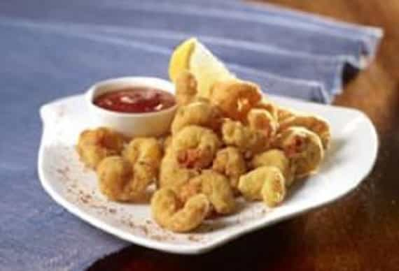 Flash Fried Louisiana Crawfish Tails with Cocktail Sauce
