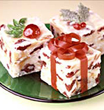White Dhristmas Fudge